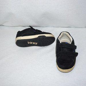 VANS Black Suede Kicks Sneakers Toddler size 10